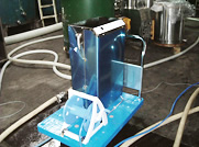 高濃度オゾン水を豆腐工場などに利用されています